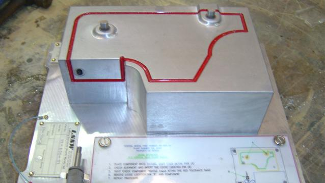 Picture of a checking fixture by Lofting Services NW