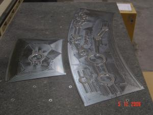 CNC Machined Titanium Sheet