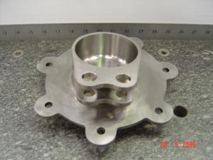 Machined Titanium Components