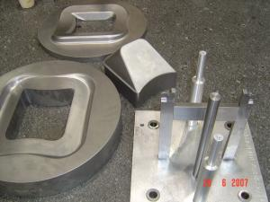 Male punch and ring - hydro-forming tool