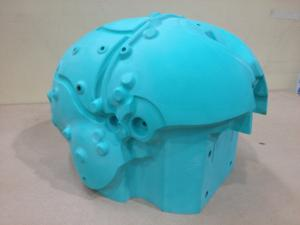 Highly Complex - Epoxy Pattern for helmet mould tooling