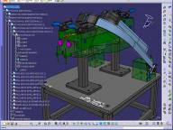 Catia screen view
