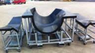carbon fibre bondment fixtures